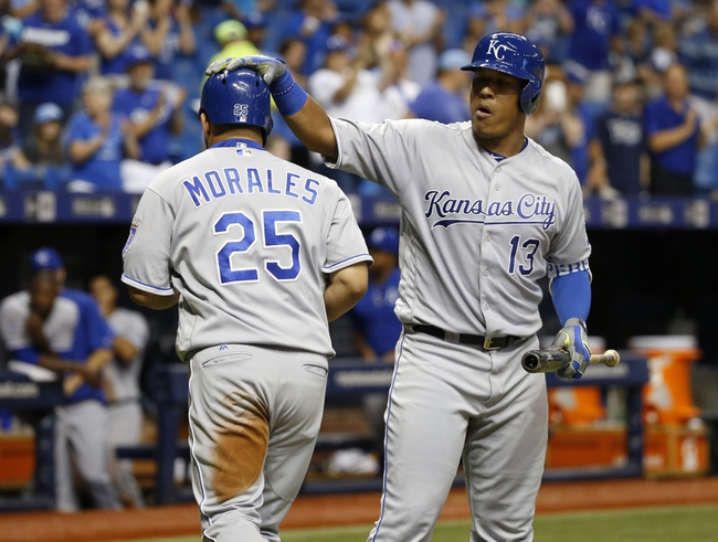 Tampa Bay Rays vs. Kansas City Royals - 8/2/16 MLB Pick, Odds, and Prediction