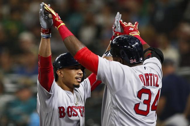 Mariners vs. Red Sox - 8/2/16 MLB Pick, Odds, and Prediction