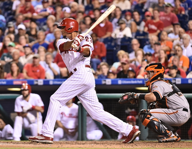 Philadelphia Phillies vs. San Francisco Giants - 8/3/16 MLB Pick, Odds, and Prediction