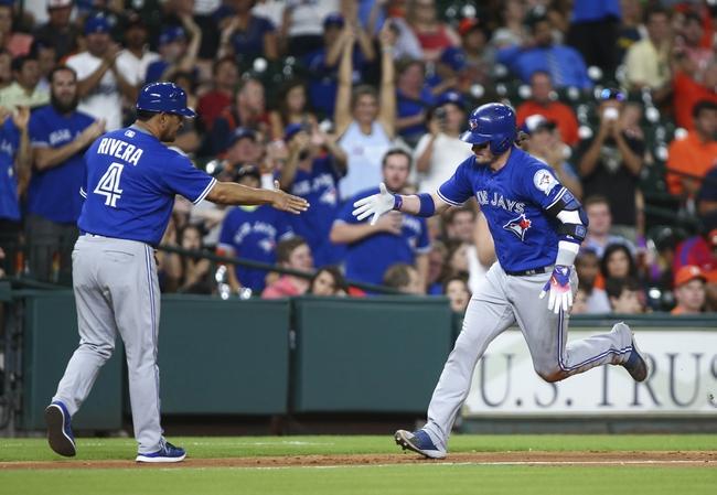 Astros vs. Blue Jays - 8/4/16 MLB Pick, Odds, and Prediction