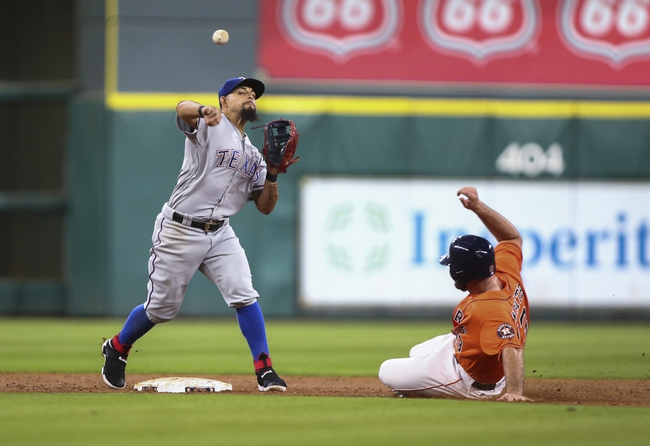 Houston Astros vs. Texas Rangers - 8/6/16 MLB Pick, Odds, and Prediction