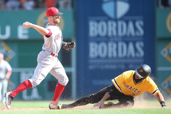 Pittsburgh Pirates vs. Cincinnati Reds - 9/8/16 MLB Pick, Odds, and Prediction