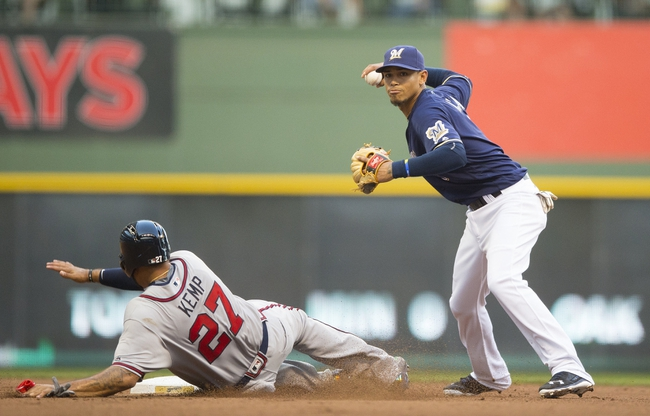 Milwaukee Brewers vs. Atlanta Braves - 8/11/16 MLB Pick, Odds, and Prediction