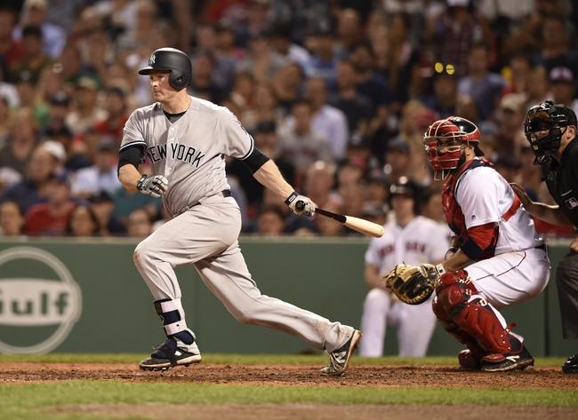 Boston Red Sox vs. New York Yankees - 8/11/16 MLB Pick, Odds, and Prediction