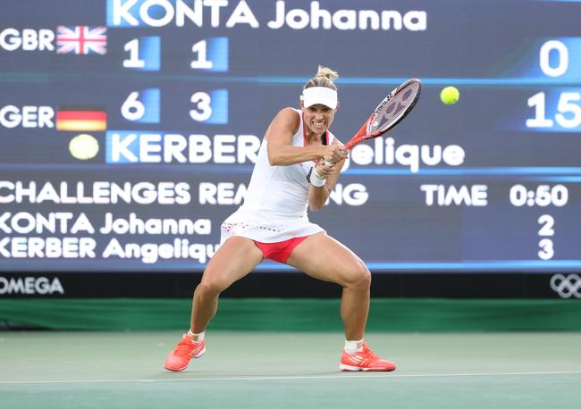 Monica Puig vs. Angelique Kerber 2016 Olympics Gold Medal Match Pick, Odds, Prediction