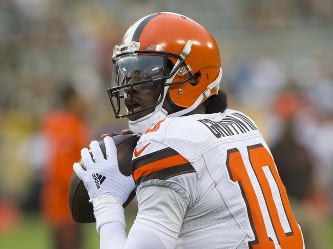 Cleveland Browns vs. Atlanta Falcons - 8/18/16 NFL Pick, Odds, and Prediction