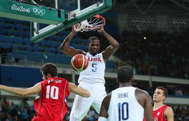 United States vs. Argentina - 8/17/16 2016 Olympic Games Quarterfinal Basketball Pick, Odds, and Prediction