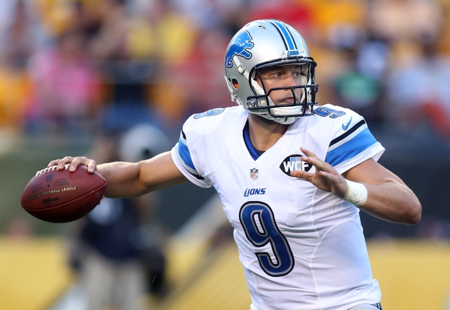 Detroit Lions vs. Cincinnati Bengals - 8/18/16 NFL Pick, Odds, and Prediction