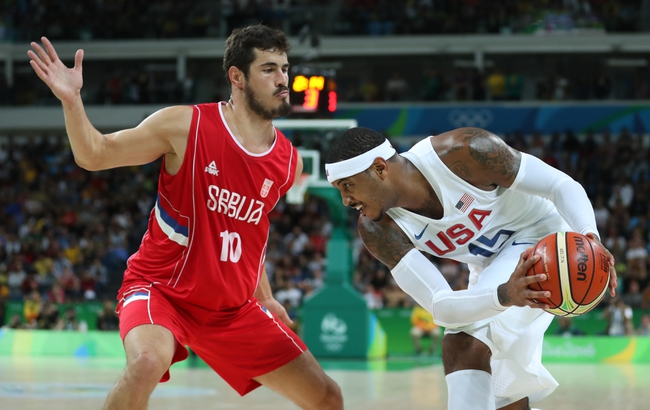 Croatia vs. Serbia - 8/17/16 2016 Olympic Games Quarterfinal Basketball Pick, Odds, and Prediction
