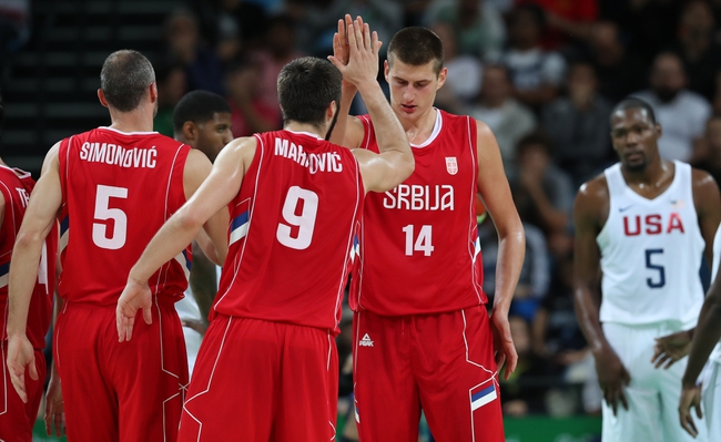 China vs. Serbia - 8/14/16 Men's Basketball 2016 Olympic Games Pick, Odds, and Prediction