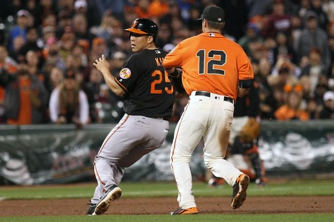 Giants vs. Orioles - 8/13/16 MLB Pick, Odds, and Prediction