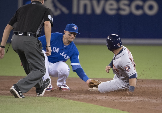 Toronto Blue Jays vs. Houston Astros - 8/14/16 MLB Pick, Odds, and Prediction