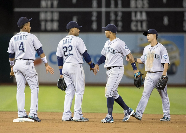 Oakland Athletics vs. Seattle Mariners - 9/9/16 MLB Pick, Odds, and Prediction