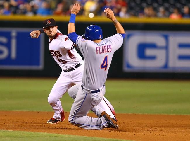 Diamondbacks vs. Mets - 8/16/16 MLB Pick, Odds, and Prediction