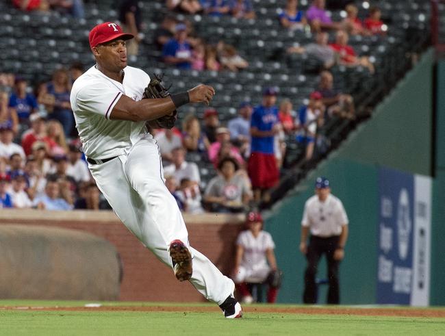 Texas Rangers vs. Oakland Athletics - 8/17/16 MLB Pick, Odds, and Prediction