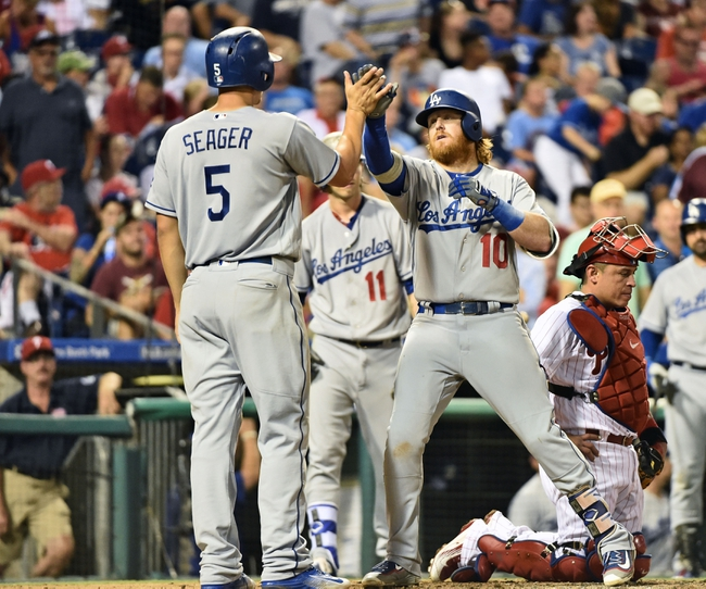 Philadelphia Phillies vs. Los Angeles Dodgers - 8/18/16 MLB Pick, Odds, and Prediction