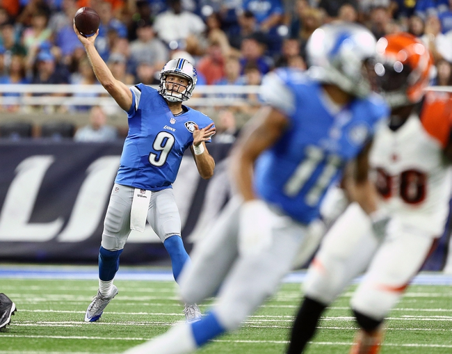 Detroit Lions at Baltimore Ravens - 8/27/16 NFL Pick, Odds, and Prediction