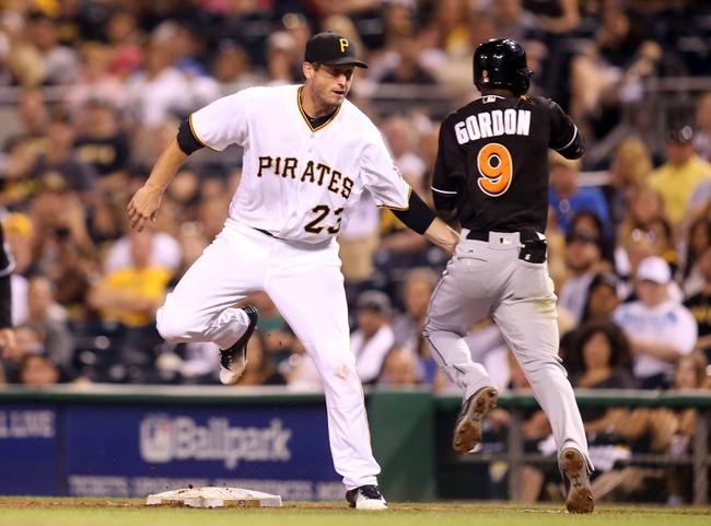 Pittsburgh Pirates vs. Miami Marlins - 8/20/16 MLB Pick, Odds, and Prediction