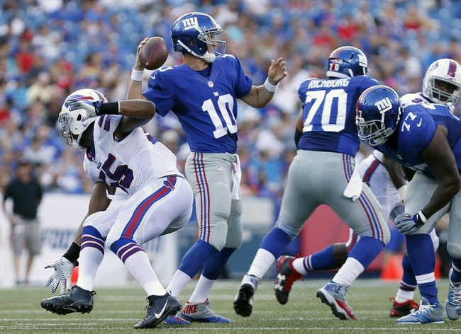 New York Giants at New York Jets - 8/27/16 NFL Pick, Odds, and Prediction