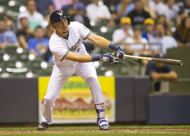 Milwaukee Brewers vs. Colorado Rockies - 8/24/16 MLB Pick, Odds, and Prediction
