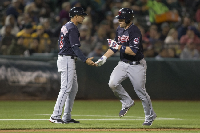 Davis hits 33rd home run in A's 9-1 win over Indians