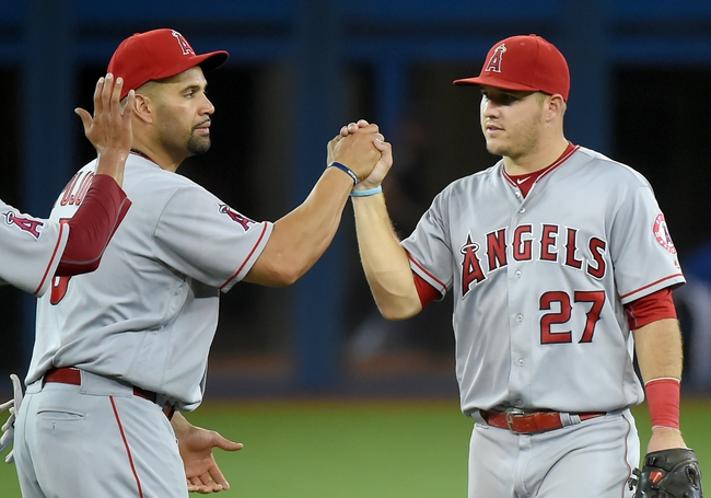 Angels vs. Blue Jays - 9/15/16 MLB Pick, Odds, and Prediction