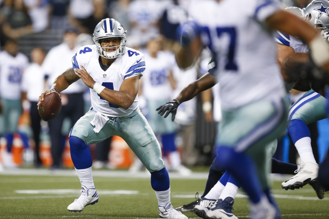 New York Giants at Dallas Cowboys - 9/11/16 NFL Pick, Odds, and Prediction