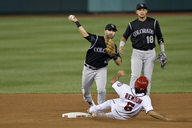 Washington Nationals vs. Colorado Rockies - 8/27/16 MLB Pick, Odds, and Prediction