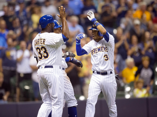 Milwaukee Brewers vs. Pittsburgh Pirates - 8/28/16 MLB Pick, Odds, and Prediction