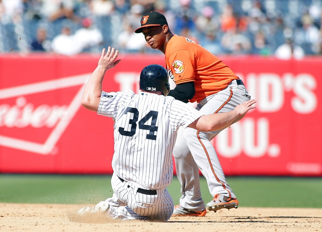 New York Yankees vs. Baltimore Orioles - 8/28/16 MLB Pick, Odds, and Prediction