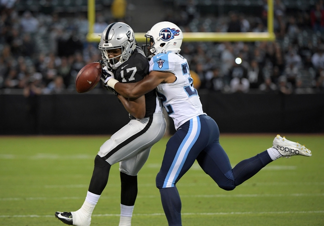 Oakland Raiders at Tennessee Titans - 9/25/16 NFL Pick, Odds, and Prediction