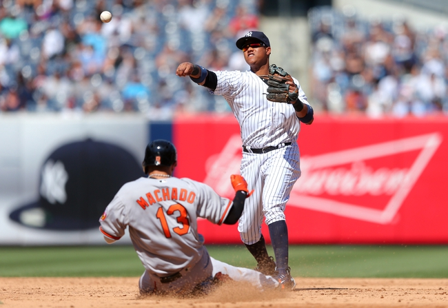 Baltimore Orioles vs. New York Yankees - 9/2/16 MLB Pick, Odds, and Prediction