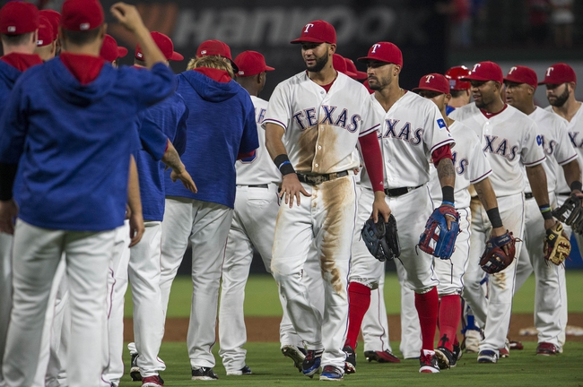 Texas Rangers vs. Seattle Mariners - 8/30/16 MLB Pick, Odds, and Prediction