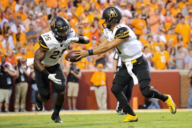 Appalachian State vs. Georgia State - 10/1/16 College Football Pick, Odds, and Prediction