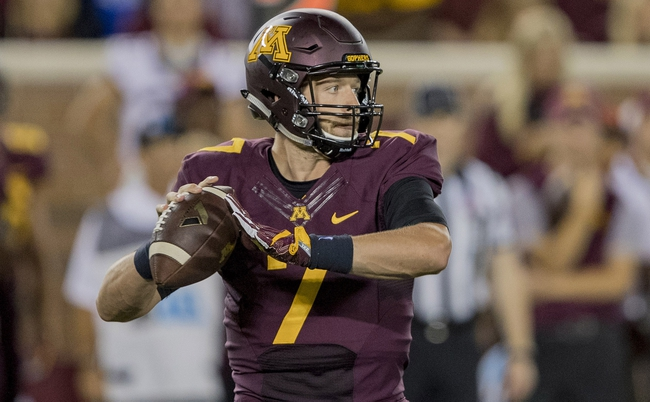 Minnesota vs. Indiana State - 9/10/16 College Football Pick, Odds, and Prediction