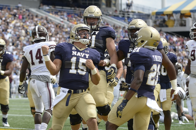 UCONN at Navy - 9/10/16 College Football Pick, Odds, and Prediction