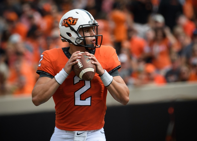 Oklahoma State vs. Central Michigan - 9/10/16 College Football Pick, Odds, and Prediction
