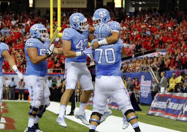 North Carolina vs. James Madison - 9/17/16 College Football Pick, Odds, and Prediction