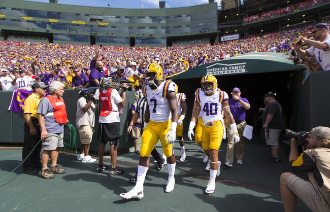 LSU  vs. Mississippi State - 9/17/16 College Football Pick, Odds, and Prediction