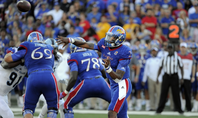 Kansas vs. Ohio - 9/10/16 College Football Pick, Odds, and Prediction