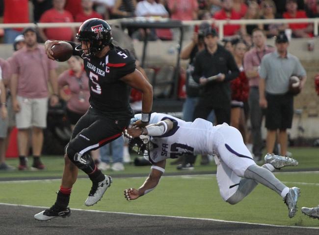 Arizona State Sun Devils vs. Texas Tech Red Raiders - 9/10/16 College Football Pick, Odds, and Prediction