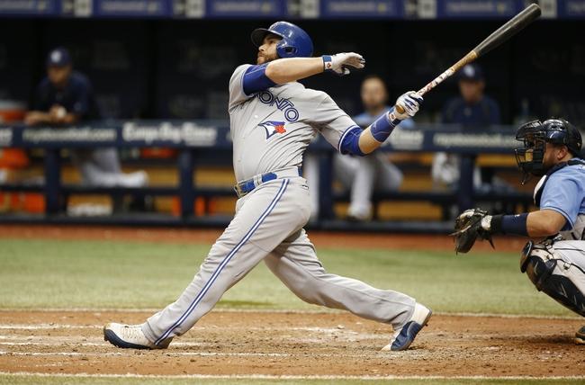 Toronto Blue Jays vs. Tampa Bay Rays - 9/12/16 MLB Pick, Odds, and Prediction