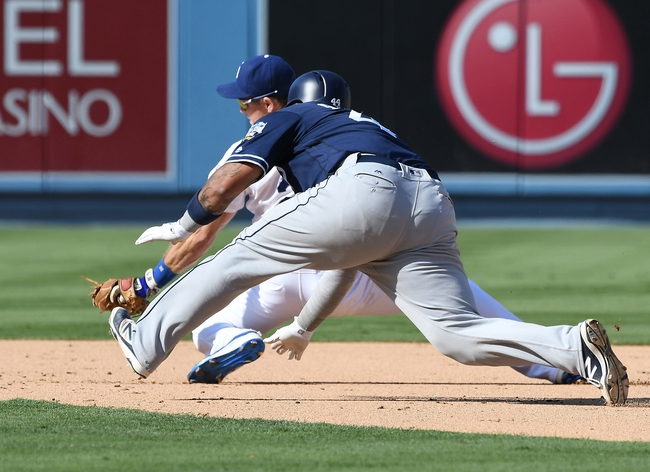 San Diego Padres vs. Los Angeles Dodgers - 9/27/16 MLB Pick, Odds, and Prediction