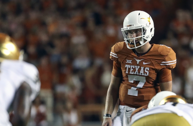 UTEP Miners vs.Texas Longhorns- 9/10/16 College Football Pick, Odds, and Prediction
