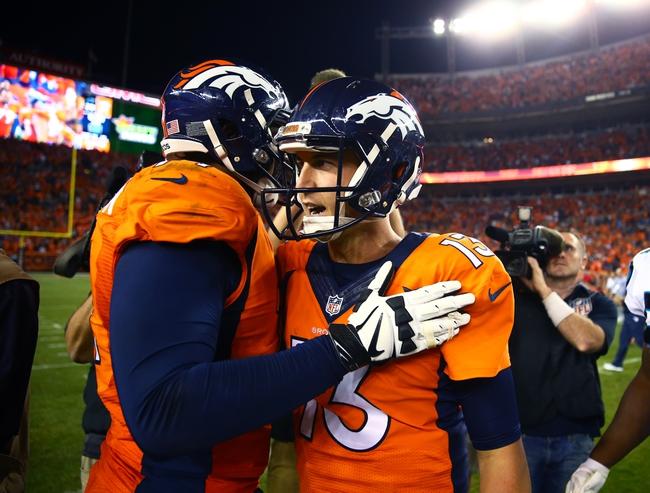 Denver Broncos vs. Indianapolis Colts - 9/18/16 NFL Pick, Odds, and Prediction