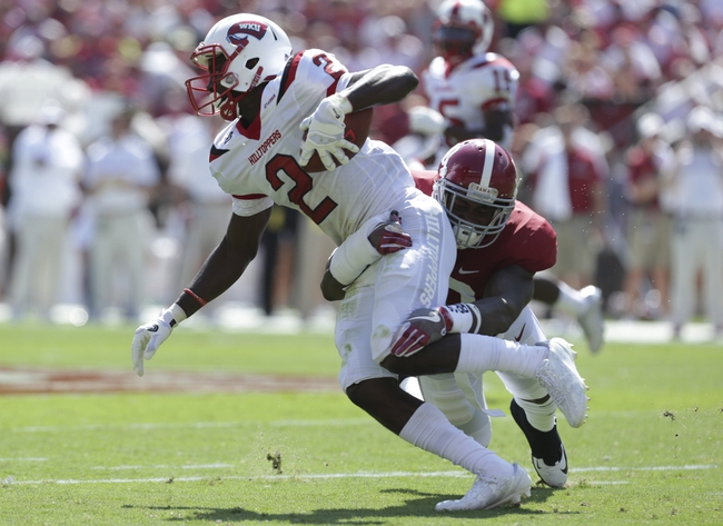Miami-OH RedHawks vs. WKU Hilltoppers - 9/17/16 College Football Pick, Odds, and Prediction