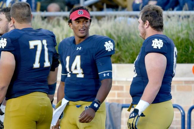 Notre Dame vs. Michigan State - 9/17/16 College Football Pick, Odds, and Prediction