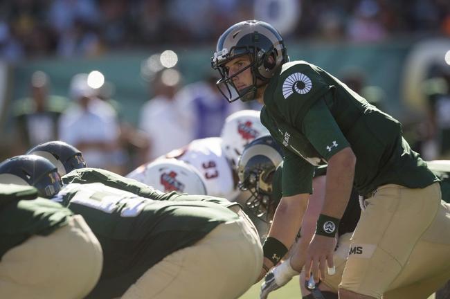 Colorado State vs. Northern Colorado - 9/17/16 College Football Pick, Odds, and Prediction