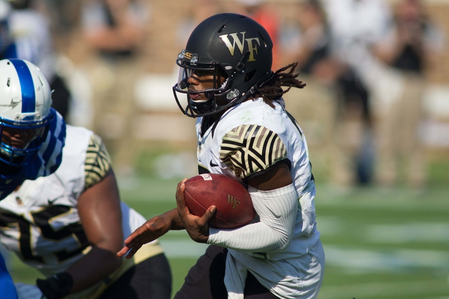 Wake Forest vs. Delaware - 9/17/16 College Football Pick, Odds, and Prediction