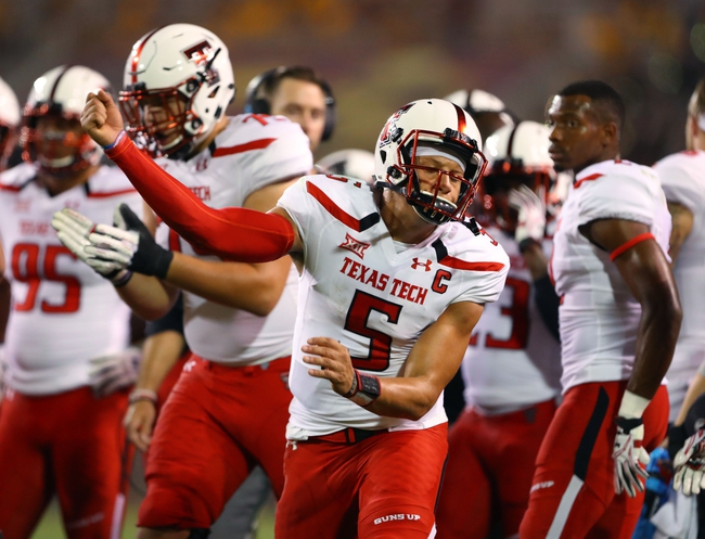 Texas Tech vs. LA Tech - 9/17/16 College Football Pick, Odds, and Prediction